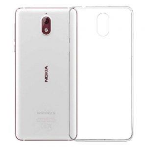 Прозрачный силиконовый TPU чехол для Nokia 3.1