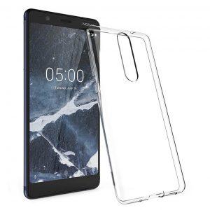 Прозрачный силиконовый TPU чехол для Nokia 5