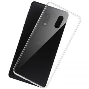 Прозрачный силиконовый TPU чехол для Nokia 6