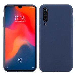Матовый силиконовый (TPU) чехол для Xiaomi Mi 9 SE (Синий)