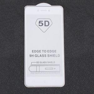 Защитное стекло 5D Full Glue Cover Glass на весь экран для Xiaomi Redmi 4x – White