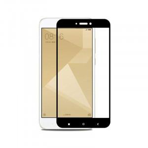 Защитное стекло 2.5D (3D) Full Cover на весь экран для Xiaomi Redmi 4x – Black