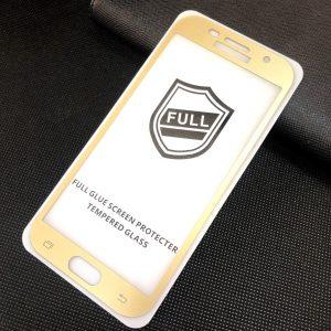 Защитное стекло 3D (5D) Perfect Glass Full Glue на весь экран для Samsung Galaxy A5 2017 (A520) – Gold