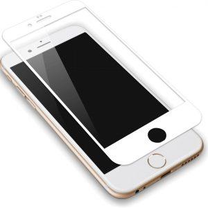 Защитное стекло 3D (5D) Full Glue Armor Glass на весь экран для Iphone 6 Plus / 6s Plus – White