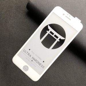 Защитное стекло 5D Japan HD ++ на весь экран для Iphone 6 / 6s – White