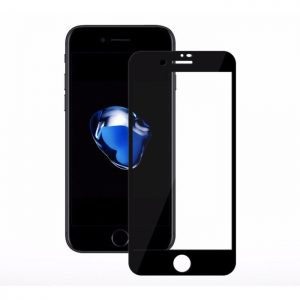 Защитное стекло 3D (5D) Full Glue Armor Glass на весь экран для Iphone 7 / 8 / SE (2020) – Black