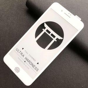 Защитное стекло 5D Japan HD ++ на весь экран для Iphone 7 Plus / 8 Plus — White