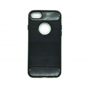 Cиликоновый TPU чехол Slim Series для Iphone 7 / 8 (Черный)
