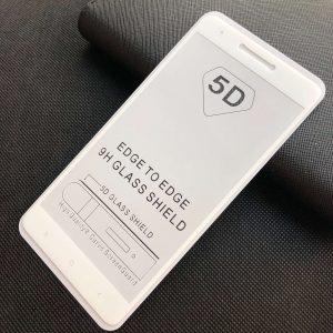 Защитное стекло 5D Full Glue Cover Glass на весь экран для Xiaomi Redmi Note 4x / Note 4 (Snapdragon) – White