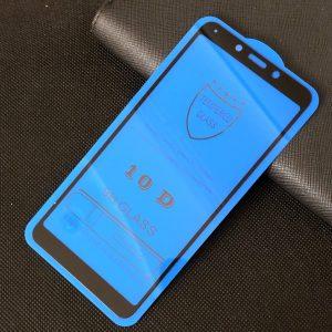 Защитное стекло 10D Full Glue Cover Glass на весь экран для Xiaomi Redmi 6 / 6A – Black