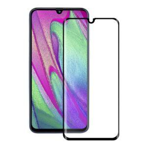 Защитное стекло 3D (5D) Full Glue Armor Glass на весь экран для Samsung Galaxy A40s 2019 (A3050) – Black