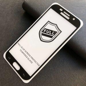 Защитное стекло 3D (5D) Perfect Glass Full Glue на весь экран для Samsung Galaxy A5 2017 (A520) – Black