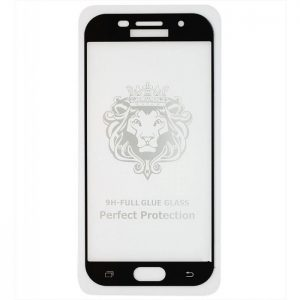 Защитное стекло 3D (5D) Perfect Glass Full Glue Lion на весь экран для Samsung Galaxy A5 2017 (A520) – Black
