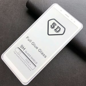 Защитное стекло 5D Full Glue Cover Glass на весь экран для Samsung Galaxy A6 Plus 2018 (A605) – White