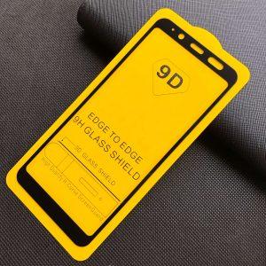 Защитное стекло 9D Full Glue Cover Glass на весь экран для Samsung Galaxy A6 2018 (A600) – Black