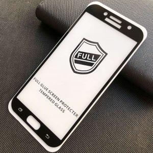 Защитное стекло 3D (5D) Perfect Glass Full Glue на весь экран для Samsung Galaxy A7 2017 (A720) – Black