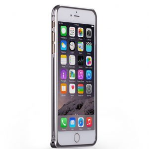 Алюминиевый  бампер  для Iphone 6 Plus / 6s Plus (Серый)