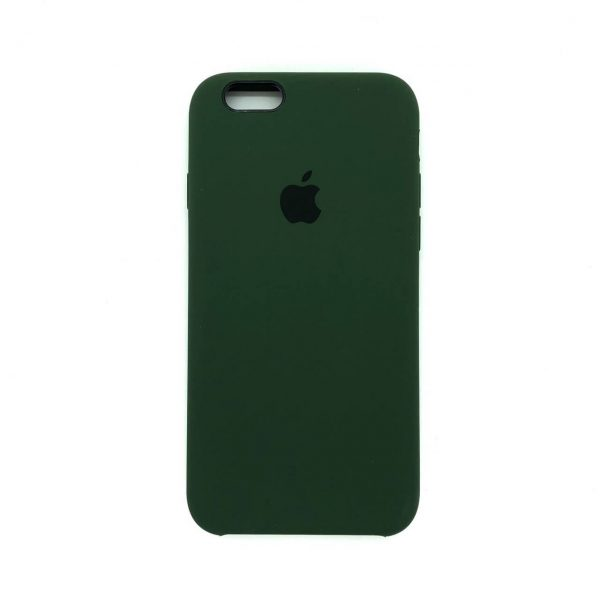 Оригинальный чехол Silicone Case с микрофиброй для Iphone 6 / 6s №42 (New Khaki)