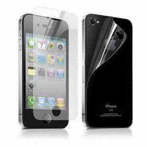 Защитная пленка на перед и зад (набор) для Iphone 4 / 4s – Clear