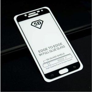 Защитное стекло 5D Full Glue Cover Glass на весь экран для Samsung J530 Galaxy J5 2017 – Black
