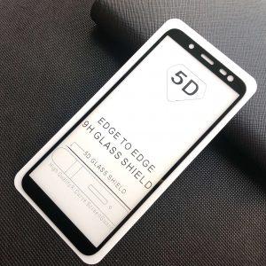 Защитное стекло 5D Full Glue Cover Glass на весь экран для Samsung Galaxy J6 2018 (J600) – Black