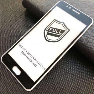 Защитное стекло 3D Full Glue Cover Glass на весь экран для Meizu M5s – Black