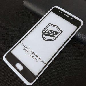 Защитное стекло 3D (5D) Perfect Glass Full Glue на весь экран для Meizu M6 Note — Black
