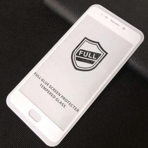 Защитное стекло 3D (5D) Perfect Glass Full Glue на весь экран для Meizu M6 Note – White