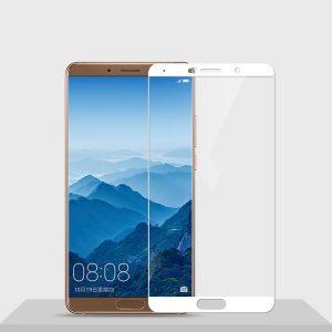 Защитное стекло 2.5D (3D) Full Cover на весь экран для Huawei Mate 10 – White