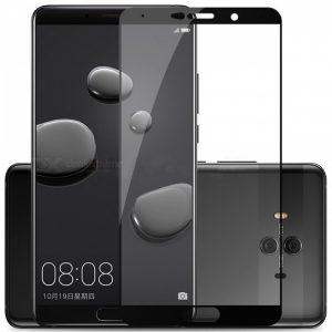 Защитное стекло 2.5D (3D) Full Cover на весь экран для Huawei Mate 10 – Black