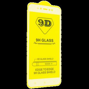 Защитное стекло 9D Full Glue Cover Glass на весь экран для Xiaomi Redmi Note 5A / Note 5A Prime — White