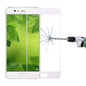 Защитное стекло 2.5D (3D) Full Cover на весь экран для Huawei P10 – White