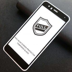 Защитное стекло 3D (5D) Perfect Glass Full Glue на весь экран для Huawei P10 Lite – Black