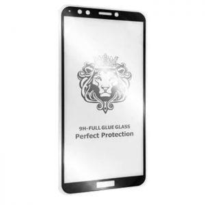 Защитное стекло 3D (5D) Perfect Glass Full Glue Lion на весь экран для Huawei P10 Lite – Black