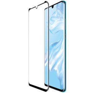 Защитное стекло 3D (5D) Full Glue Tempered Glass для Huawei P30 Pro – Black