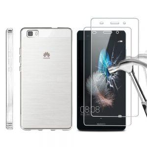 Защитное стекло 2.5D Ultra Tempered Glass для Huawei P8 Lite 2016 — Clear