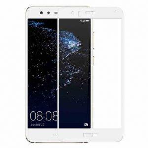 Защитное стекло 2.5D (3D) Full Cover на весь экран для Huawei P9 Lite – White