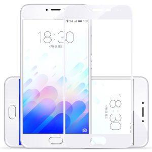 Защитное стекло 3D (5D) Full Glue Mofi Glass на весь экран для Meizu Pro 6 / 6s – White
