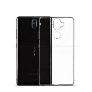 Прозрачный силиконовый TPU чехол для Nokia 7 Plus