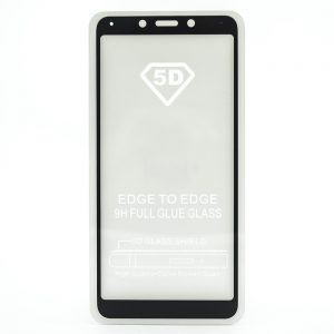 Защитное стекло 5D Full Glue Cover Glass на весь экран для Xiaomi Redmi 6 / 6A – Black