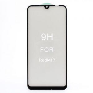 Защитное стекло 5D Premium 9H Full Glue на весь экран для Xiaomi Redmi 7 — Black