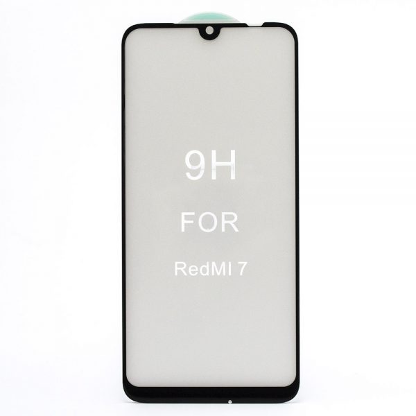 Защитное стекло 5D Premium 9H Full Glue на весь экран для Xiaomi Redmi 7 – Black