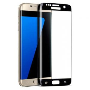 Защитное стекло 3D Full Cover на весь экран для Samsung Galaxy S6 Edge (G925) – Black