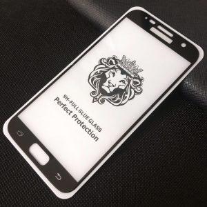 Защитное стекло 3D (5D) Perfect Glass Full Glue Lion на весь экран для Samsung G930 Galaxy S7 – Black
