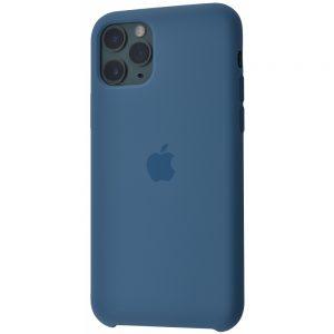 Оригинальный чехол Silicone Case с микрофиброй для Iphone 11 Pro – Alaskan blue