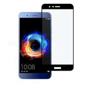 Защитное стекло 2.5D (3D) Full Cover на весь экран для  Huawei Honor 8 Pro / V9 – Black