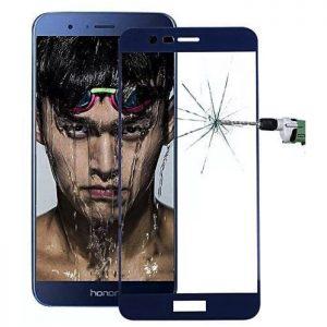 Защитное стекло 2.5D (3D) Full Cover на весь экран для  Huawei Honor 8 Pro / V9 – Blue
