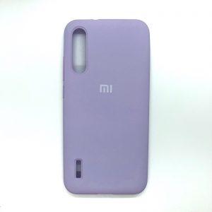 Оригинальный чехол Silicone Cover 360 с микрофиброй для Xiaomi Mi A3 / CC9e (Сиреневый)