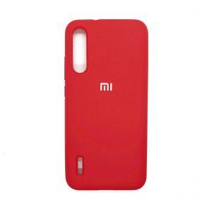 Оригинальный чехол Silicone Cover 360 с микрофиброй для Xiaomi Mi A3 / CC9e (Красный)