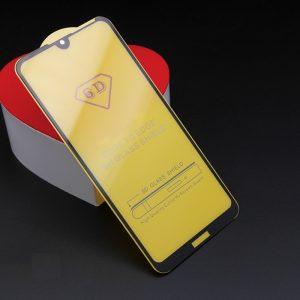Защитное стекло 6D Full Glue Cover Glass на весь экран для Huawei Y7 2019 / Y7 Prime / Y7 Pro – Black